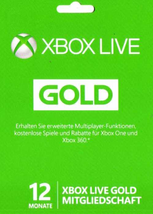 xbox gold mitgliedschaft online kaufen