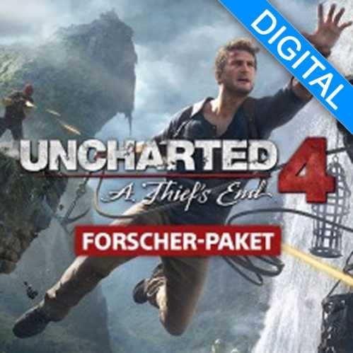 uncharted 4 explorers pack ps4 code kaufen online. Black Bedroom Furniture Sets. Home Design Ideas