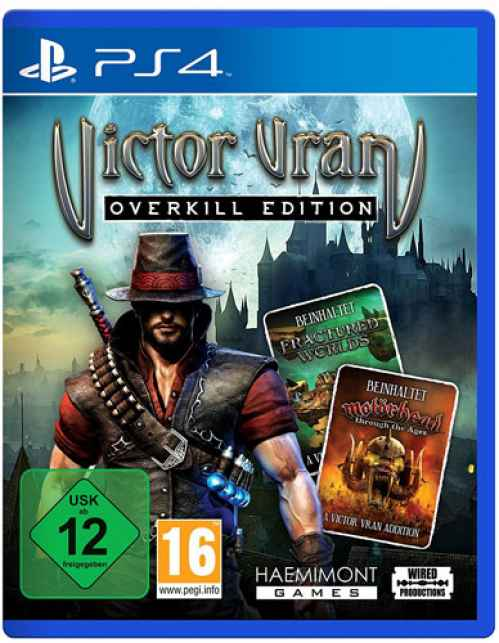 viktor vran ps4 overkill edition kaufen online. Black Bedroom Furniture Sets. Home Design Ideas