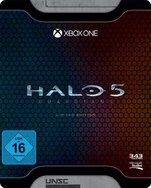 halo 5 guardians limited edition xbox one kaufen. Black Bedroom Furniture Sets. Home Design Ideas