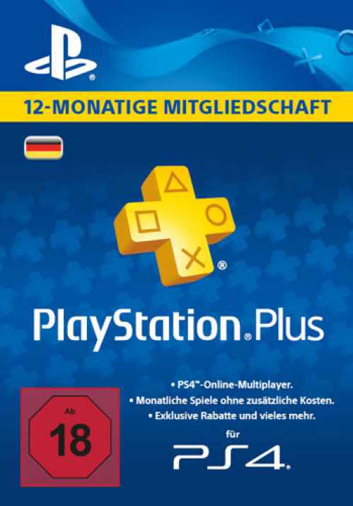 Playstation Plus 12 Monate Code
