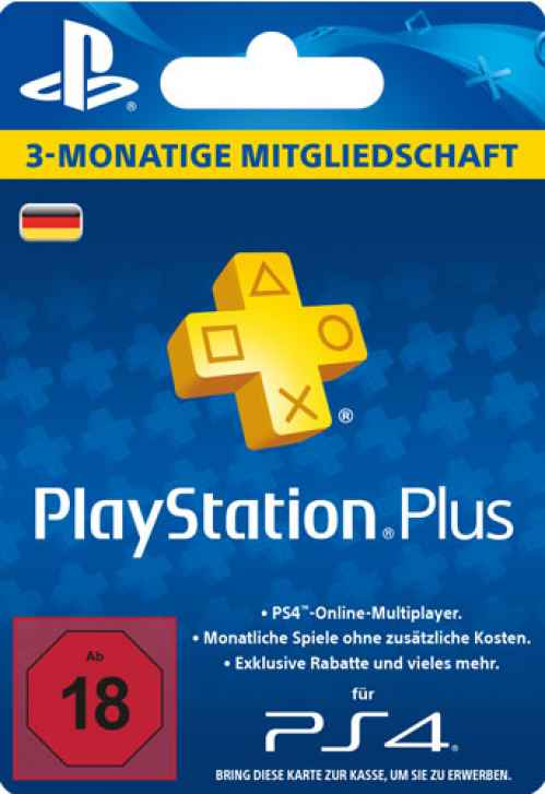 Ps Plus Karte.Playstation Plus 3 Monate Mitgliedschaft Live Card