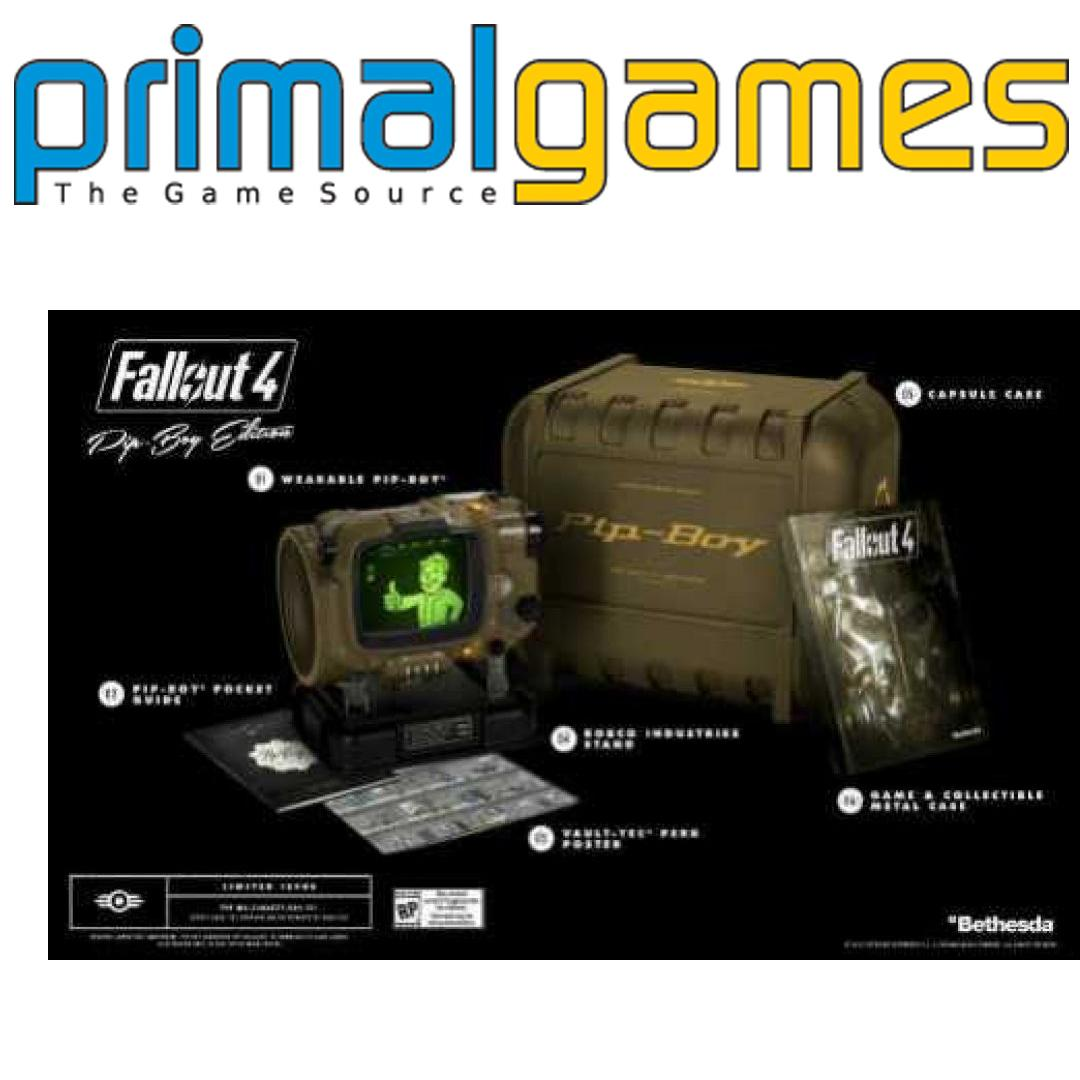 fallout 4 collectors edition pip boy ps4 kaufen. Black Bedroom Furniture Sets. Home Design Ideas